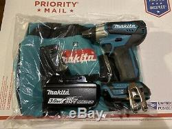 NEW Makita Brushless 18V LXT Li-ion Sub-Compact 1/2 Impact Wrench XWT13 3ah bat