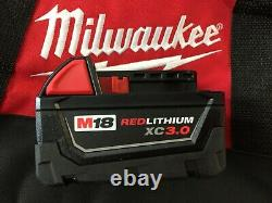 NEW Milwaukee 2663-20 1/2 18v Impact Wrench (1) 3Ah Battery / Charger & Bag