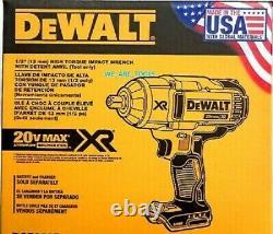 New DeWalt DCF899B 20V CORDLESS MAX XR Brushless High Torque Impact Wrench TOOL