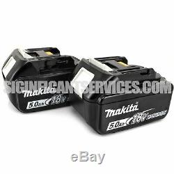 New Makita XWT11Z 18V LXT Brushless 3 Speed 1/2 Impact Wrench 5.0 Ah Batteries