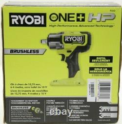 New RYOBI P262 / HP ONE+ 18V Brushless Cordless 4-Mode 1/2 in. Impact Wrench New