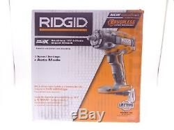 Ridgid R86011B 18-Volt GEN5X Cordless Brushless 1/2 in. Impact Wrench withBelt Clip