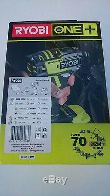 Ryobi 18V ONE+ Brushless Impact Wrench Kit with Bit Adaptor & Drill Bit Accessory