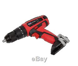 Sealey 9 piece Kit Grinder / Drill / Wrench / Saw / Sander / Box / 2x Batteries