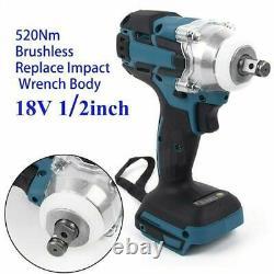 520nm 18v 1/2 Clé D'impact Sans Fil Sans Fil Pour Batterie Makita Dtw285z