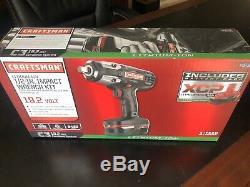 Artisan C3 1/2 Heavy Duty Clé À Chocs Kit 4ah Xcp Chargeur De Batterie Inclus