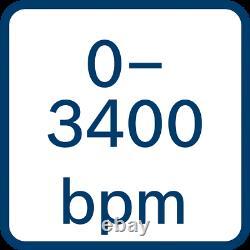 Bosch Gds 18v-300 18v Brushless 1/2 Unité De Barre De Clé D'impact + Boîtier Lboxx