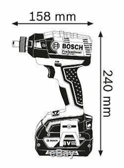 Bosch Gdx18v-ec Clé À Chocs Sans Fil Professionnel Nu Corps De L'outil Uniquement