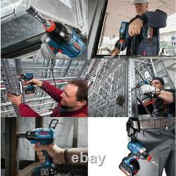 Bosch Gdx 18v-ec Impact Sans Fil Professionnel Pilote 18v Easy Grip Bare Outil