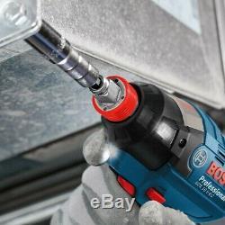 Bosch Gdx 18v-ec Lithium Brushless Clé À Chocs D'impact Driver 2 X 5.0ah