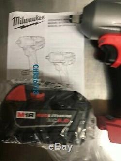 Clé À Chocs À Chocs Neuve Milwaukee Fuel M18 2861-20 18v 1/2 X2 5.0 48-11-1850