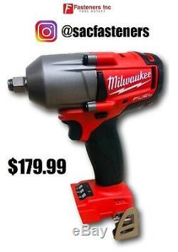 Clé À Chocs Sans Balais Milwaukee Fuel M18 2861-20 18 V Li-ion 1/2 Midtorque