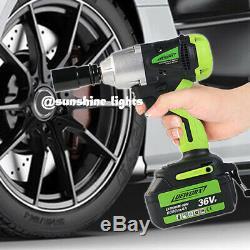 Clé À Chocs Sans Fil Deworx 6.0ah Li-ion 21v Max 2 Batterie & 1 Chargeur 460nm