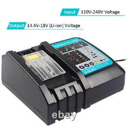 Clé D'impact Sans Brosse Sans Fil 18v Pour Makita Dtw285z+ Batterie 6.0ah + Chargeur