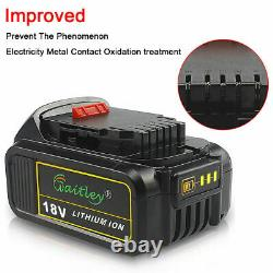 Clé D'impact Sans Fil 18v Pour Dewalt 18v Xr + 6.0ah Batterie + Chargeur