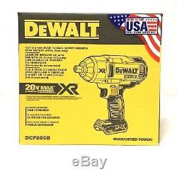 Clé Dewalt Dcf899b 20v Max Xr Brushless 1/2, Arrêt (outil Nu)