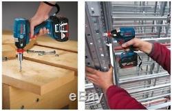 Corps De Clé À Chocs Sans Impact Bosch Gdx18v-ec 18v Uniquement Dans Une Boîte En Carton