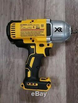 Dewalt 20v Max Xr 1/2 High Torque Clé À Chocs + 5,0 Chargeur De Batterie + Dcf899h