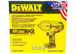 Dewalt 20v Max Xr High Torque 1/2 Pouce Impact Wrench Dcf899hb Made In USA