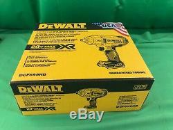 Dewalt 20v Xr 1/2 Brushless Hog Bague Clé À Chocs (seul Outil) USA Fabriqué Dcf899hb