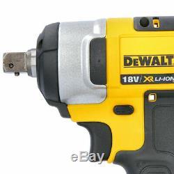 Dewalt Dcf880 18v Xr Clé Compact Impact + Free Mesures De Bande De Poche 5 M / 16ft