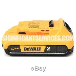 Dewalt Dcf890 20v Max 2.0 Lithium Ion 3/8 Brushless Compact Impact Kit Clé