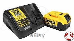 Dewalt Dcf890 20v Max 4.0 Lithium Ion 3/8 Brushless Compact Impact Kit Clé
