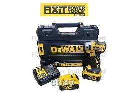 Dewalt Dcf890n P2 18v Xr Brushless 3/8 Compact Impact Wrench 2 X 5ah Rw