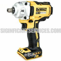Dewalt Dcf894b 20v Max Xr Brushless Mid-range ½ Impact Anneau Hog 2 5,0 Ah