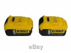 Dewalt Dcf894p2 20v Max Xr 1/2 Brushless Milieu De Gamme Sans Fil D'impact Kit Clé