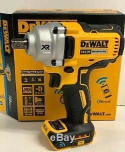 Dewalt Dcf896n 18v 1/2 Sans Fil Brushless Mi-couple Clé À Chocs Outil Connect