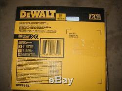 Dewalt Dcf897b 20 Volt 3/4 Brushless Sans Fil Haut Couple Clé À Chocs Nouveau