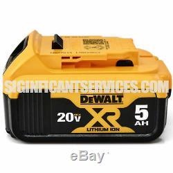 Dewalt Dcf899 20v Xr Brushless 1/2 Detent Clé À Chocs 5,0 Ah Dcb205 Batteries