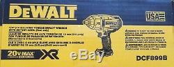 Dewalt Dcf899b 20v 20 Volts 1/2 Haut Couple Balai Impact Wrench Nouveau 2019