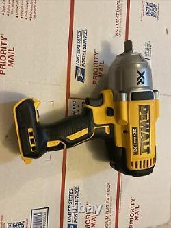 Dewalt Dcf899b 20v Xr High Torque 1/2 Impact Wrench W Detent Anvil Bare Tool