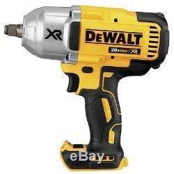 Dewalt Dcf899hp1 De 5.0ah Xr 1/2 Impact Brushless Kit Clé