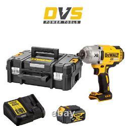 Dewalt Dcf899m1 Cordless 18v Xr 1/2 Brushless Impact Wrench & Tstak Case Set