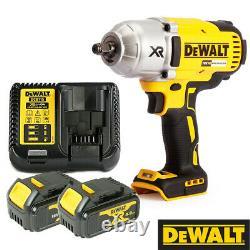 Dewalt Dcf899n 18v Couple Élevé Clé À Chocs Avec 2 X 4.0ah Batteries Et Chargeur