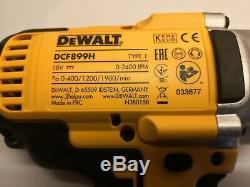 Dewalt Dcf899n Xr Brushless Couple Clé À Chocs 18 Volt Unité Nu