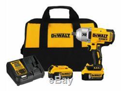 Dewalt Dcf899p2 20v Max Xr Brushless 1/2 Kit Clé À Chocs 2 Batterie