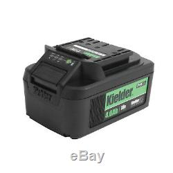 Kielder 18v batterie De Lithium Coupleur Pistolet À Clé À Choc Sans Fil De 1/2 Pouce 1/2 Pouce