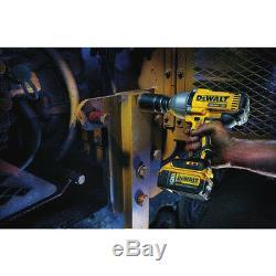 Kit Clé Dynamométrique Sans Balai Dewalt Dcf899p2, 20 Volts Maxi, 1/2 Pouce