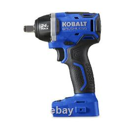 Kobalt 24 Volts Max 1/2-in Drive Brushless Cordless Impact Wrench