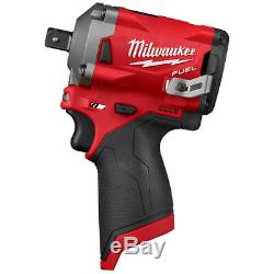 M12 Fuel 12 2555p-20-volt 1/2 Po Clé À Chocs Pin Nu Outil