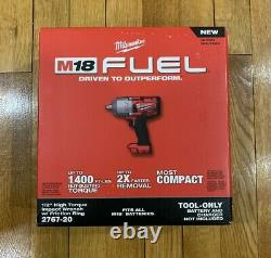 M18 Carburant 1/2 Clé D'impact Milwaukee 2767-20 Brushless Friction Ring Tool Nouveau