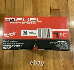 M18 Combustible Gen2 1/2 Clé D'impact Milwaukee 2962-20 Brushless MID Torque Outil