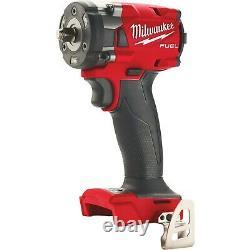 M18 Milwaukee Fuel 2854-20 3/8 Clé D'impact Sans Fil Sans Brosse Volt New In Box