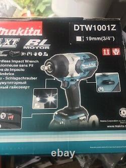 Makita Dtw1001z Clé D'impact Sans Fil 18v Bleu (88381803212)