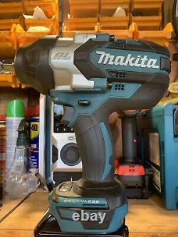 Makita Dtw1002z 18v Brushless Impact Wrench Bleu