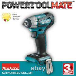 Makita Dtw180z 18v Lxt Brushless 3/8 Impact Wrench Body Seulement 9.5mm 180nm
